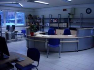 Biblioteca Area Accoglienza